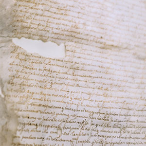 Aging paper files holding valuable information that can be preserved with document imaging.