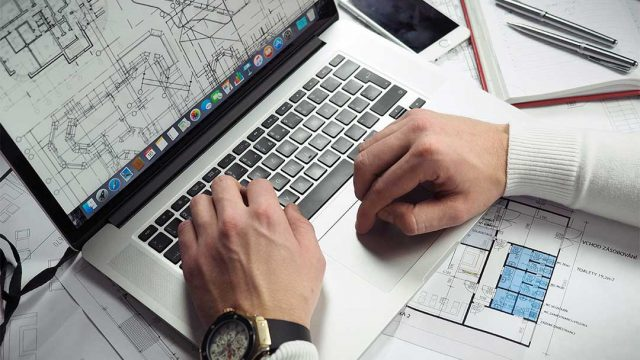 Paper construction, manufacturing, and engineering drawings scanned to digital files for better document workflow and management.
