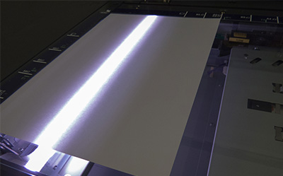Large format scanner to scan and digitize oversized blueprints, documents, and more.
